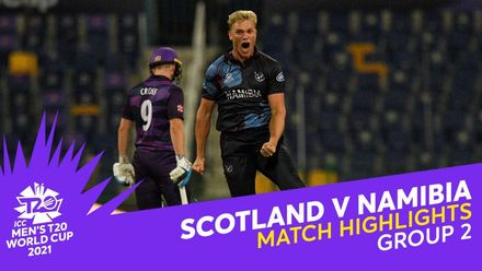 Match Highlights: Scotland v Namibia