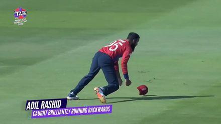 Nissan POTD: Adil Rashid's catch running backwards