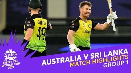 Match Highlights: Australia v Sri Lanka