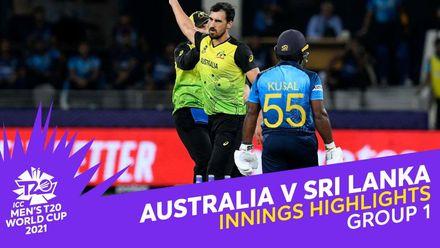 Innings Highlights: Australia v Sri Lanka